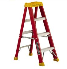 Louisville Ladder 4 Feet Fiberglass Stepladder 300 Lbs Capacity