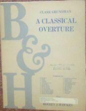 Classical Overture - Clare Grundman - Concert Band Sheet Music