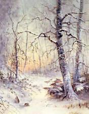 """Winter Breakfast""to Rabbits In Winter by Joseph Farquharson"
