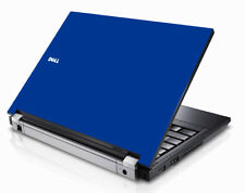 BLUE Vinyl Lid Skin Cover Decal fits Dell Latitude E5400 Laptop