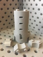 Lego 2x2 Light Gray Brick With Inside And Outside Bow New Lot Of 12