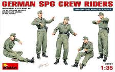 Miniart 1/35 alemán SPG Crew Riders # 35054
