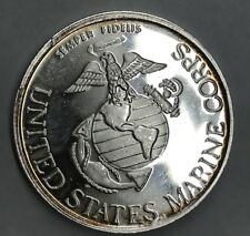Profiles In Courage U.S Marine Corps & Navy 1 Troy oz .999 Silver Coin (7449)