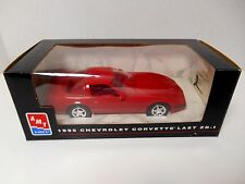 1995 AMT Ertl  Promo Car  '1995 Torch Red Chevrolet Corvette Last ZR-1'  1/25