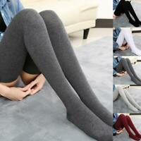 1 Pair Socks Autumn Winter Length 80cm Long Thigh Socks High Sock Ladies Kn N3H4