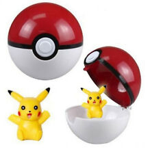 New Chic Pokemon Pikachu Pokeball Cosplay Pop-up Master 7cm Ball Action Figure