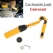 Car Gear Shift Handbrake Lock Anti-theft Brake Security Safety Stainless Steel