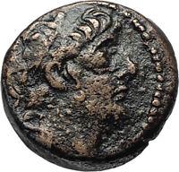 ANTIOCHOS IX Kyzikenos Authentic Ancient Seleukid Greek Coin Thunderbolt i67492