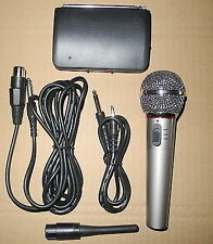 301a VHF Wireless Handheld Microphone System