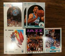 Dell Curry NBA Basketball 5+ Card Lot Hornets Topps Archives Fleer NBAHoops