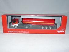 herpa 311328 Iveco Trakker 4x4 Tank-Sattelzug - Feuerwehr Löschmittel 1:87 NE...