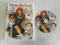 DOCE REINOS THE TWELVE KINGDOMS DVD EPISODIOS 1-4 ANIMACION ESPAÑOL JAPONES