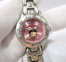 BETTY BOOP, Stainless Steel, Analogue, Heart Band, Cute, Lady's/Kids WATCH, 1135