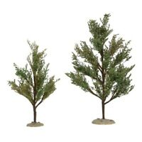 Department 56 Village Southern Oak Trees Accessory Figurine Set of 2 6005030 New