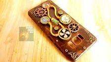 Steampunk handmade 3D phone case,  copper and gold, customisation for all phones