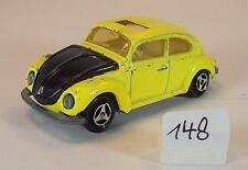 Majorette 1/60 Nr. 202 VW Volkswagen 1302 Limousine gelb/schwarz #148