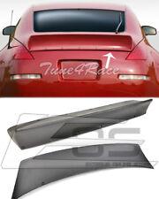 Per 03-08 Nissan 350z Primerizzato Nero Coda Retro Trunk Aletta Coperchio Bunny