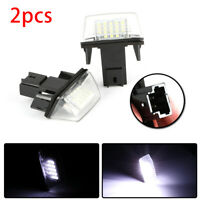 2X LED Number License Plate Lamp Light For Citroen C3-C6 Berlingo Xsara Picasso~