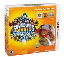 NEW & SEALED Nintendo 3DS Skylanders Giants: Portal Owners Pack Tree Rex Bundle