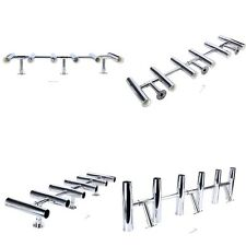 6 Tube Adjustable Stainless Rocket Launcher Rod Holders , Can be Rotated 360 Deg