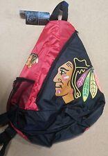 Chicago Blackhawks BackPack / Back Pack Book Bag NEW NHL - TEAM COLORS - SLING