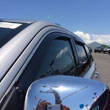 Window Visors Rain Guard In-Channel For Jeep Grand Cherokee 2011-2020