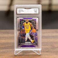 📈 2019-20 Prizm LeBron James #129 Los Angeles Lakers GMA 10 💎 PSA? BGS?