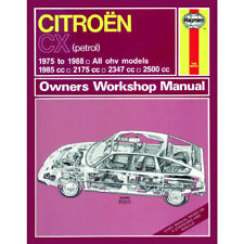 Citroen CX Haynes Manual 1977-88 2.0 2.2 2.3 2.5 Petrol inc Turbo Workshop