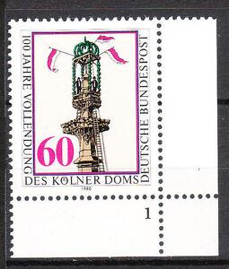 BRD 1980 Mi. Nr. 1064 Postfrisch Eckrand 4 Formnummer 1 TOP!!! (9796)