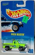 Hot Wheels Path Beater Chevrolet Pickup Truck Ctd's Collector #198 Malaysia 1997