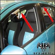 Set 4 Déflecteurs de vent pluie air teintées Opel Agila B et Suzuki Splash
