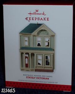 NEW 2013 Hallmark STATELY VICTORIAN #30 in Nostalgic Houses and Shops Ornament