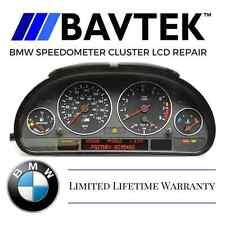 BMW INSTRUMENT CLUSTER SPEEDOMETER REPAIR E38 740i 750iL E39 525 530 540 M5 1YR
