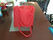 Awesome Red Beads Bag.