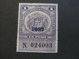 CHILE - LIQUIDATION STOCK - EXCELENT OLD STAMP - 3375/16