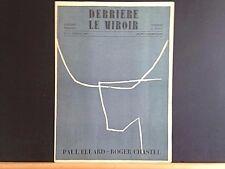 Derriere le Miroir 17, Miró, Braque, Giacometti lithos, 1959, vintage INV2112