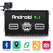 """9"""" AUTORADIO RDS Android 9.1 GPS NAVI +Caméra For VW GOLF 5 6 Passat Touran Polo"""