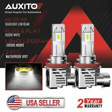 AUXITO H8 H11 LED Headlight Bulb High Low Beam for GMC Sierra 2500 HD 2010-2014