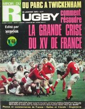 Miroir du Rugby n°160 - 1975 - Dominique Harize - Castres - Saubier - Fouroux