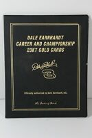 DALE EARNHARDT CAREER AND CHAMPIONSHIP 23KT GOLD CARDS IN BOOK (15)