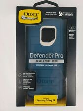 Otterbox Defender Pro Series Case for Samsung Galaxy S9 Belt Clip Big Sur Blue