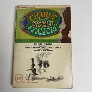 Charlie And The Chocolate Factory Bantam Edition 1977 paperback book