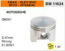 61.00521 PISTONE MOTOSEGA EMAK EFCO DYNAMAC OLEO MAC 261 OM261 Ø 47 mm