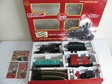 LGB Lehmann G Scale NYC 2-4-0 Steam Freight Set w/ Smoke & Sound #72442 EX