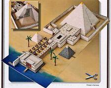 Pyramide mit Taltempel 1:400 Bastelbogen J.F. Schreiber Kartonmodellbau