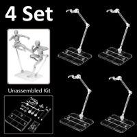 4 Set HG 1/144 Action Figure Base Stand Holder Fit For RG SD SHF Gundam  UK