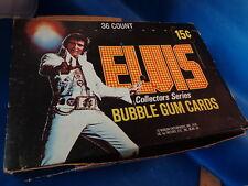 ELVIS - 1978 DONRUSS HOBBY BOX (36) CLASSIC PACKS - KING OF ROCK & ROLL ! LQQK !