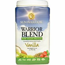 Sunwarrior Blend Raw Plant-Based Complete Vegan Protein Vanilla Powder 1Kg