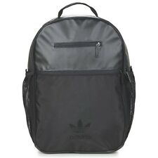 NEW WITH TAGS ADIDAS ORIGINALS LARGE SHOULDER BLACK ESS BACK PACK BAG RUCKSACK
