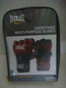 EVERLAST Everstrike Multi-Purpose Gloves - Size L/xl Red + Black UNUSED!! NEW